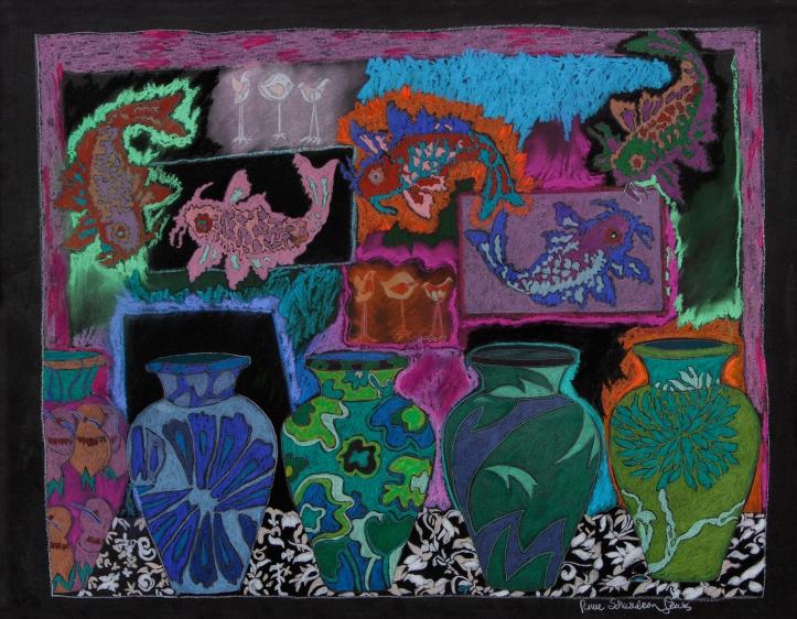 Vase & Fish II